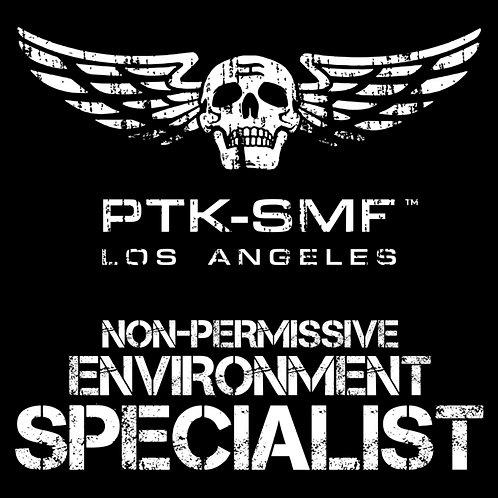 """PTKSMFLA Specialist Die Cut Sticker 4"""""""