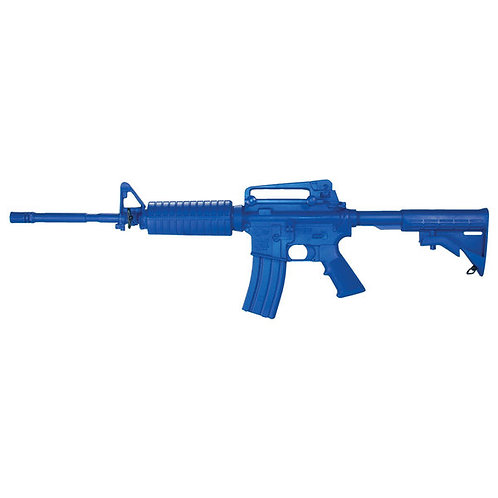 RINGS BLUE GUN M4 OPEN STOCK