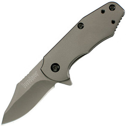 Kershaw Ember Assisted 2.0 in Gray Plainedge Gray Stainless