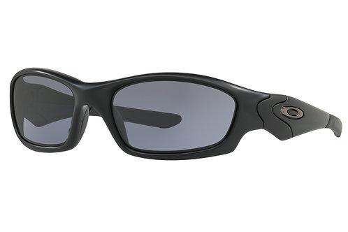 Oakley SI Straight Jacket / Matte Black Frame with Grey Lenses
