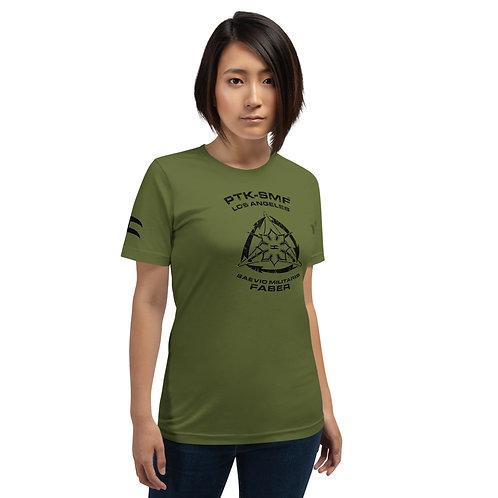 PTKSMFLA PTK FIGHTER DARK Short-Sleeve Unisex T-Shirt