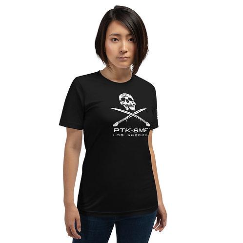 PTKSMFLA Raider (DISTRESS) Short-Sleeve Unisex T-Shirt
