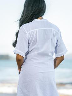 Colette Tunic white back