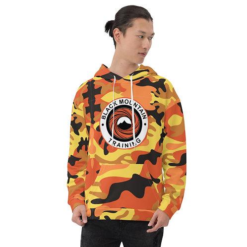 BMT Unisex Hoodie - Orange Camo