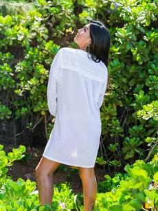 Dahlia Tunic white back