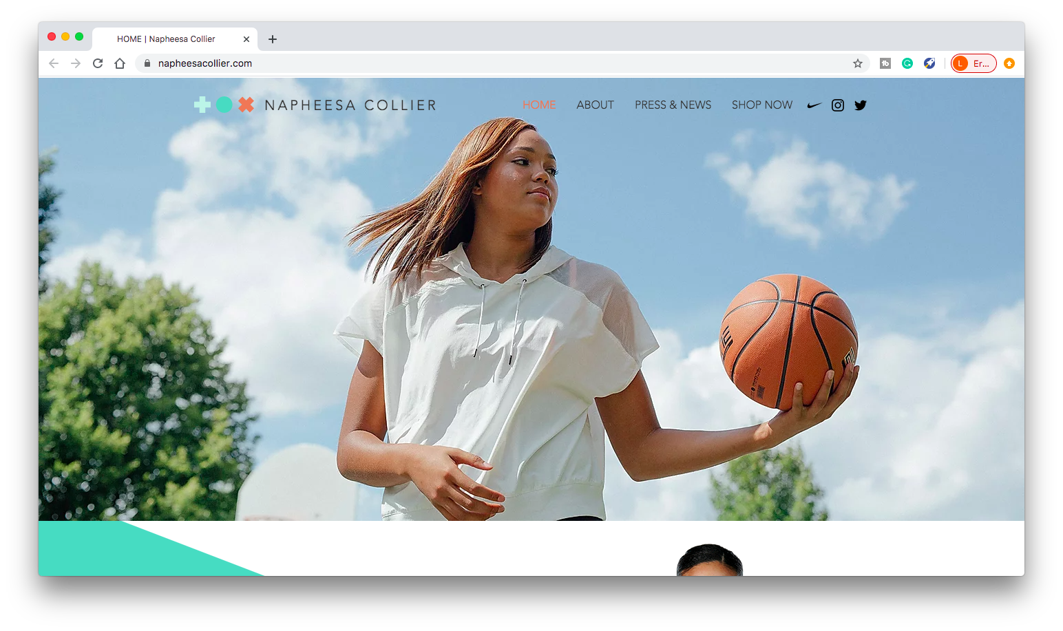 Personal Website - WNBA