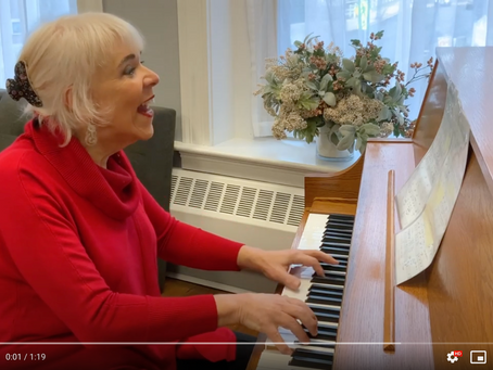 Watch Diana Play a Medley of Holiday Favorites