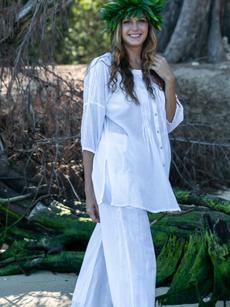 Ellen Tunic White