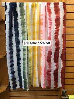 Reversible Shawls $50 Take 15% off