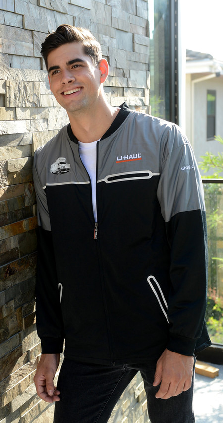 light weight jacket front