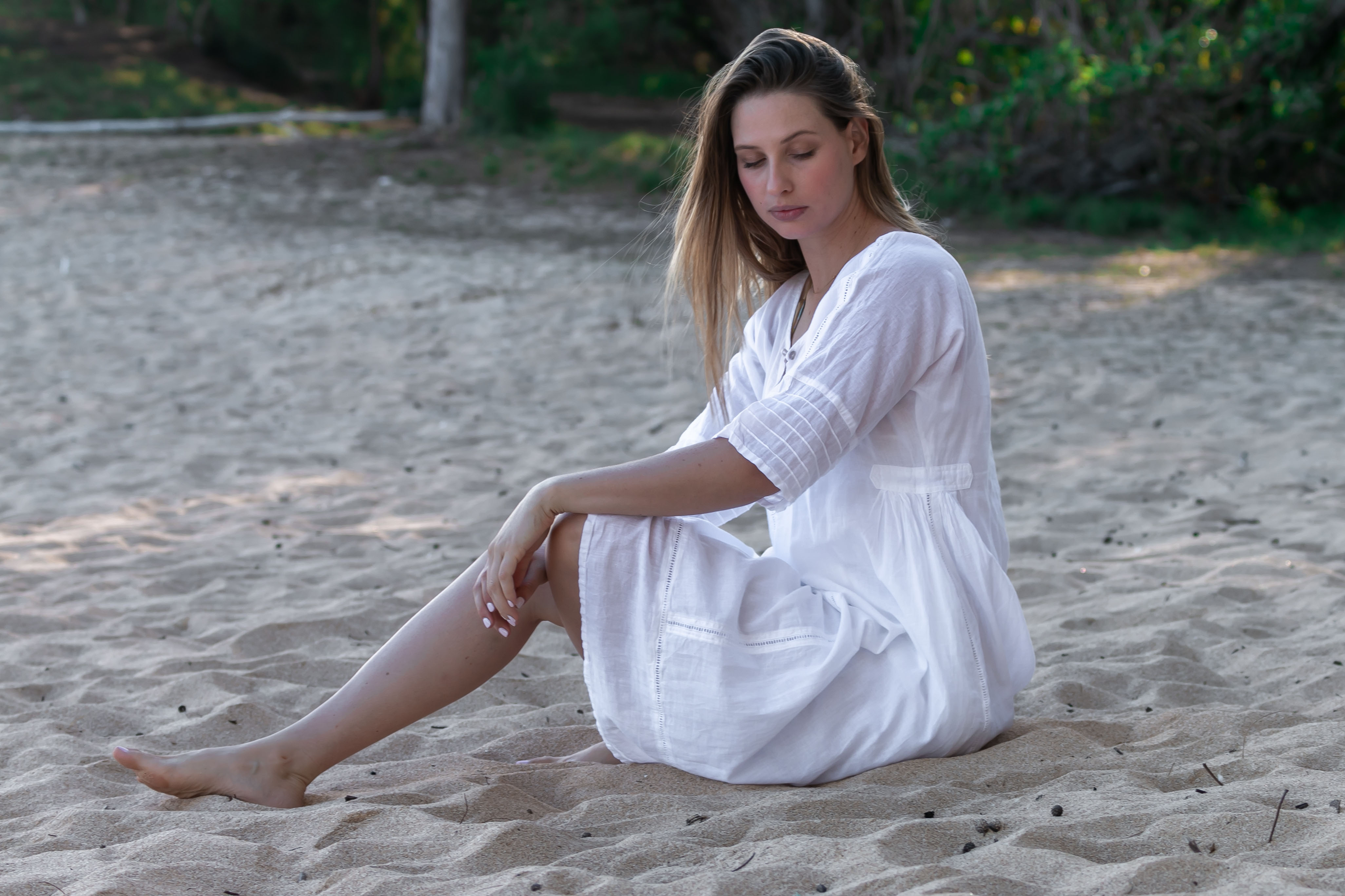 Willow Dress - White