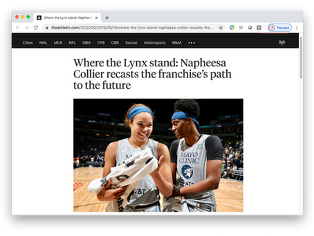 Napheesa Collier recasts the franchise's path to the future