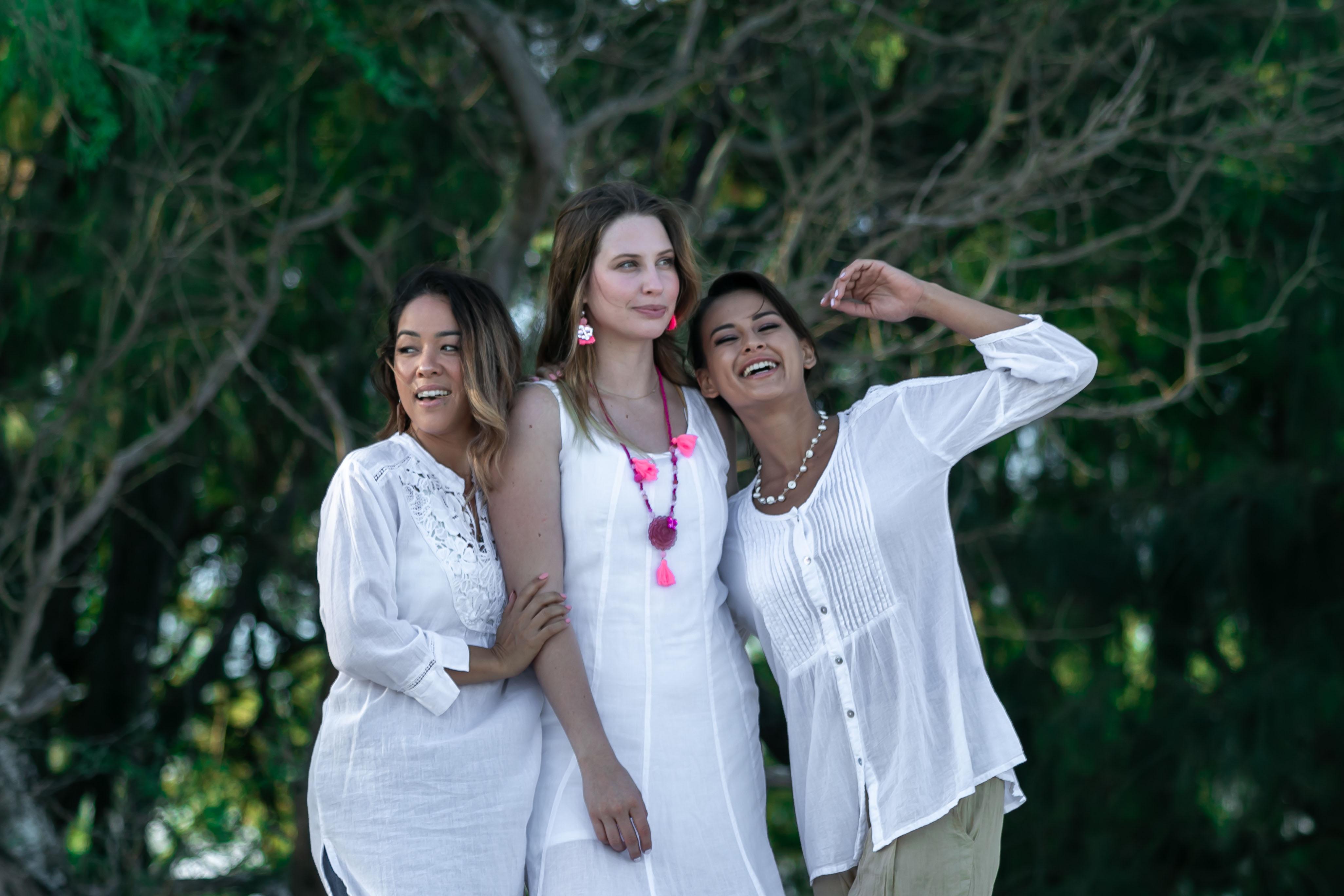 Georgina, Donna, Molly