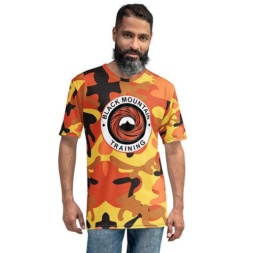 BMT Men's T-shirt: Orange Camo