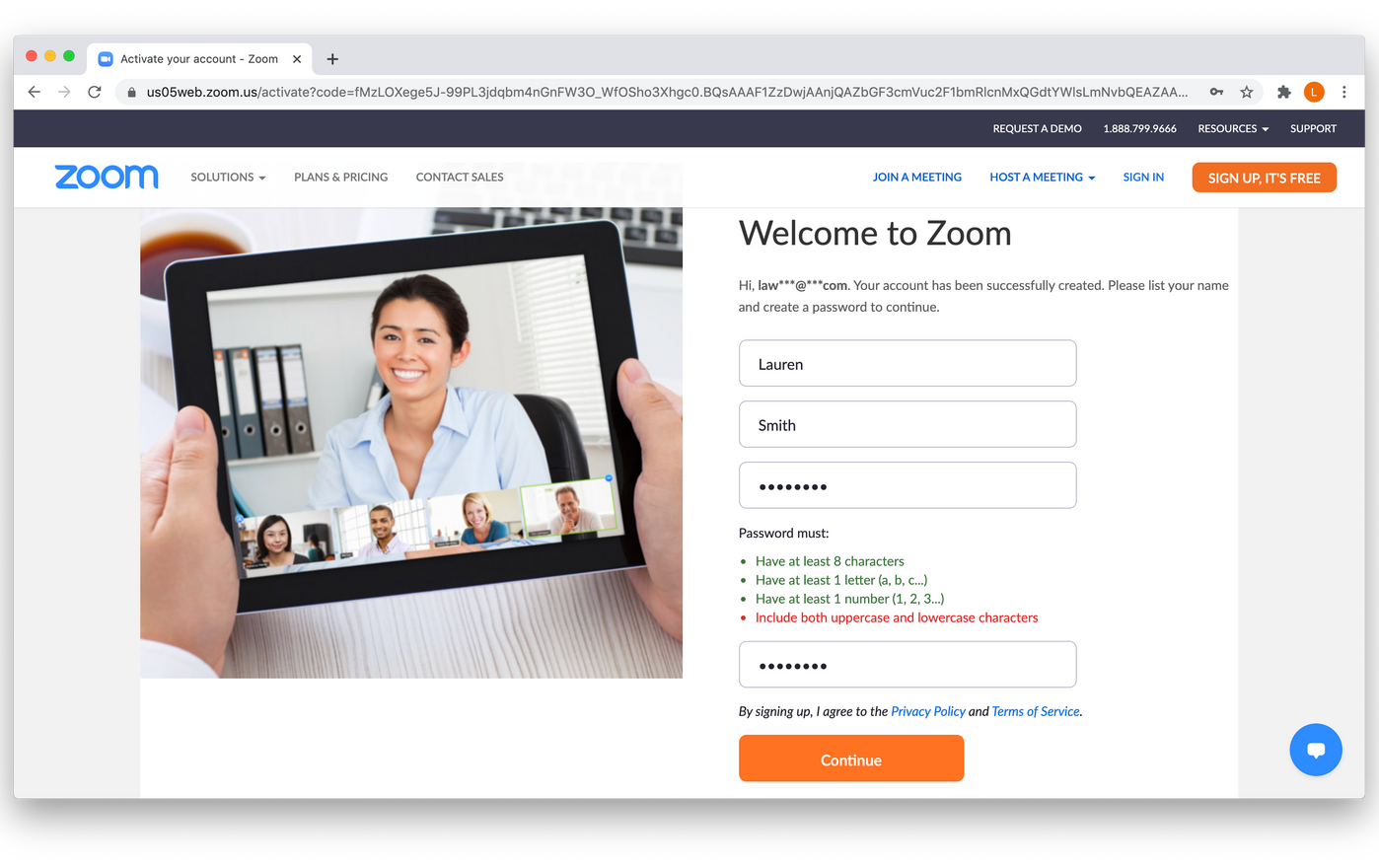 Integrate Gutenberg Certs with Zoom