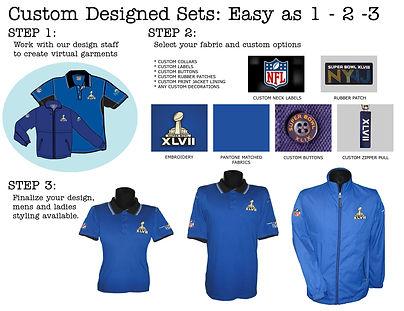 Custom designed uniforms and corporate clothing