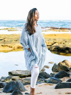 Chloe Tunic ocean denim