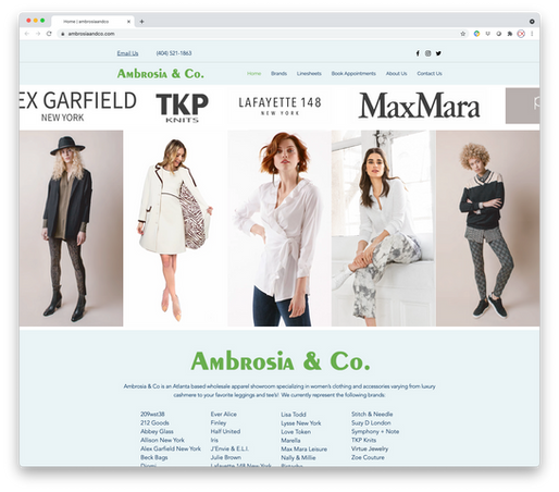 Ambrosia & Co - Fashion B2B