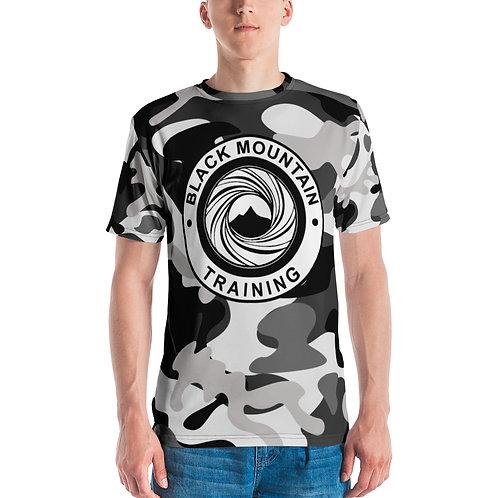 BMT Men's T-shirt: Black Camo