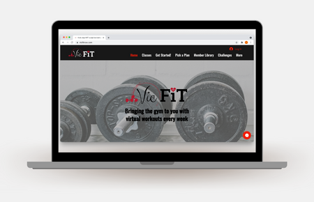 Fitness Instructor Website