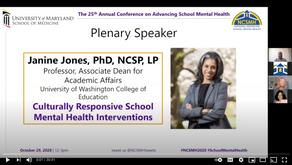 Janine Jones, PhD - Plenary Speaker