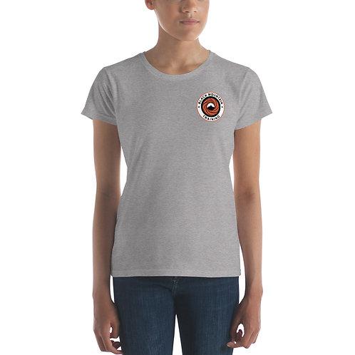 BMT Women's short sleeve t-shirt - Orange Front & Back
