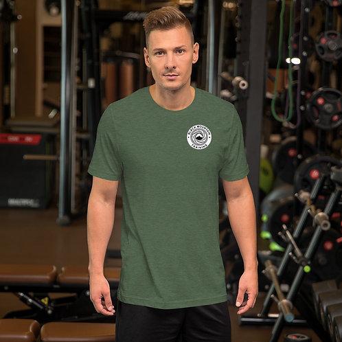 BMT Short-Sleeve Unisex T-Shirt: Grey Front & Back