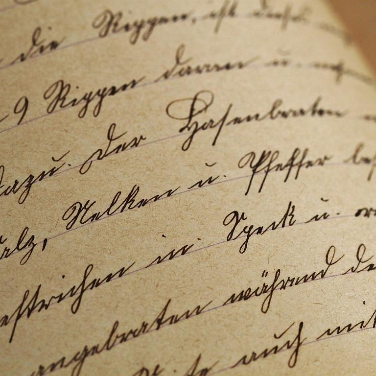 Alte Schriften lesen für EinsteigerInnen