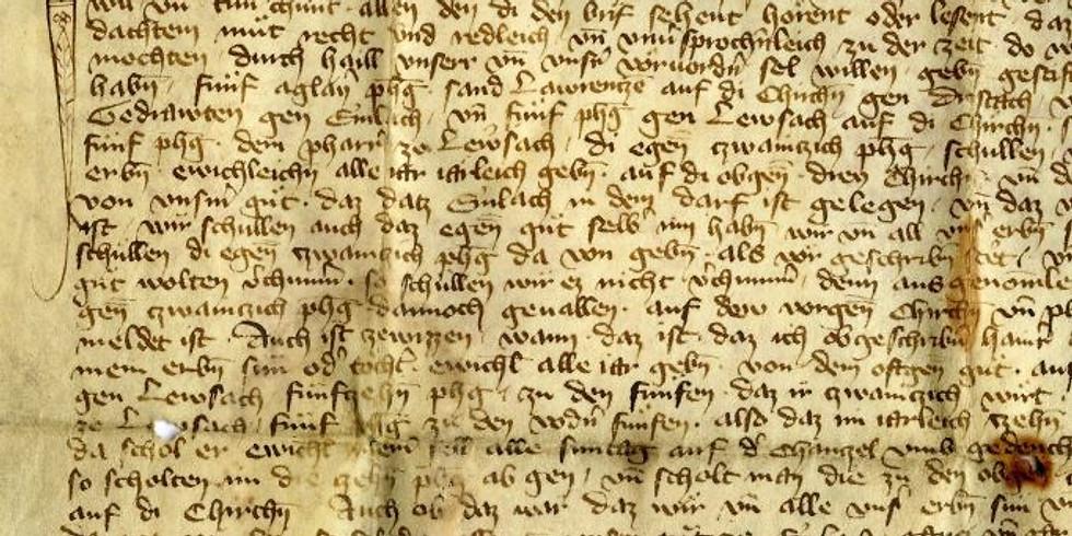 Alte Schriften lesen für Einsteiger