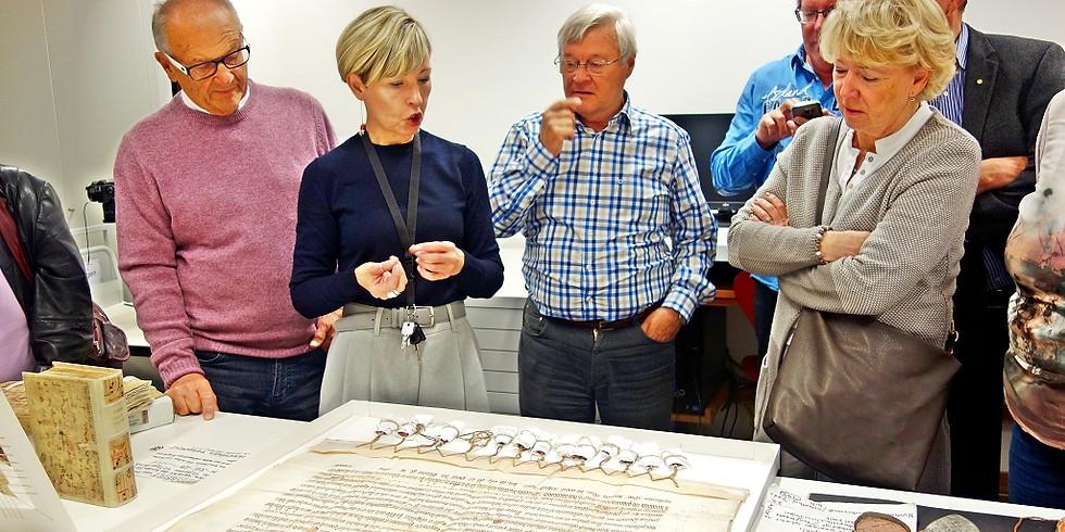 Besuch des Archivs der Erzdiözese Salzburg