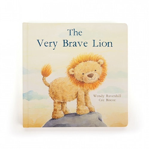 Jellycat The Very Brave Lion Hardback Book