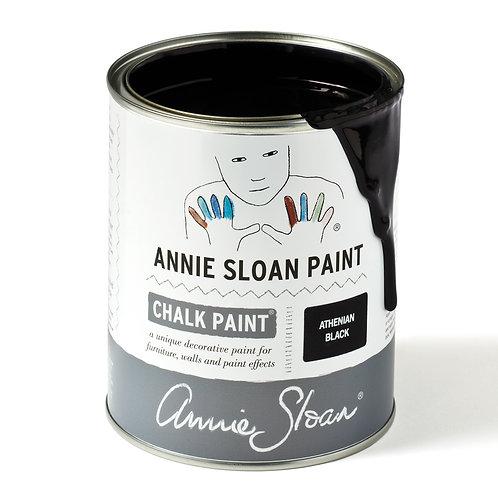 New Athenian Black Annie Sloan Chalk Paint™ 120ml Tester Pot