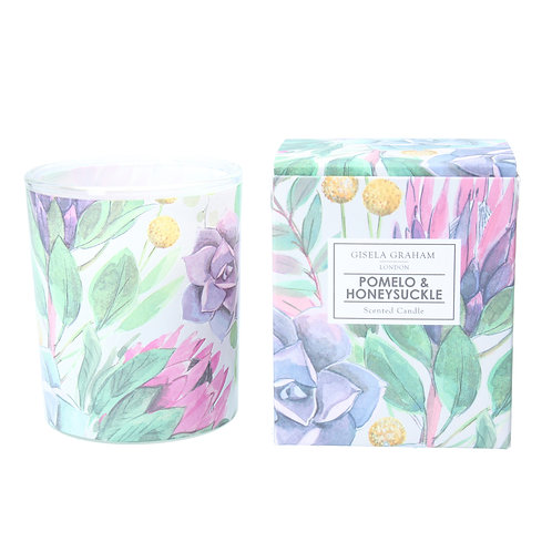 Desert Blooms Pomelo & Honeysuckle Scented Candle