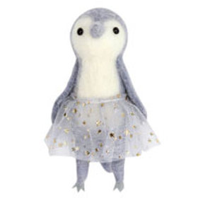 Soft Penguin with Tutu tree decoration