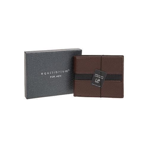 Equilibrium for Men Brown Wallet