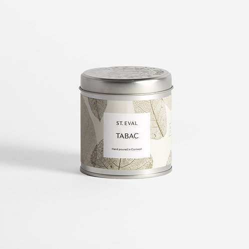 Tabac Scented Tin Candle