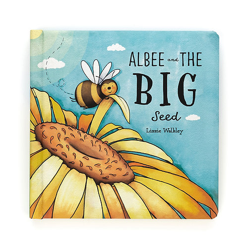 Jellycat Albee and the Big Seed Hardback Book