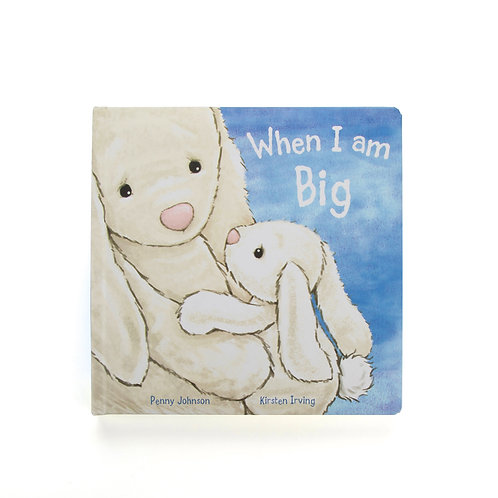 Jellycat When I am Big Hardback Book