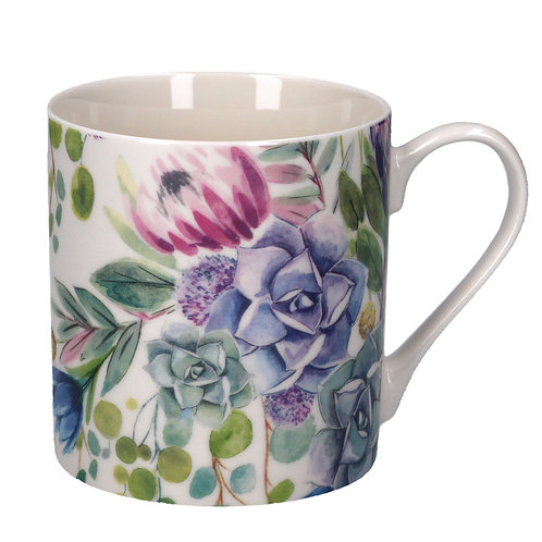 Desert Blooms Bone China Mug