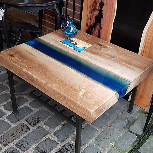 Solid Ash River Table