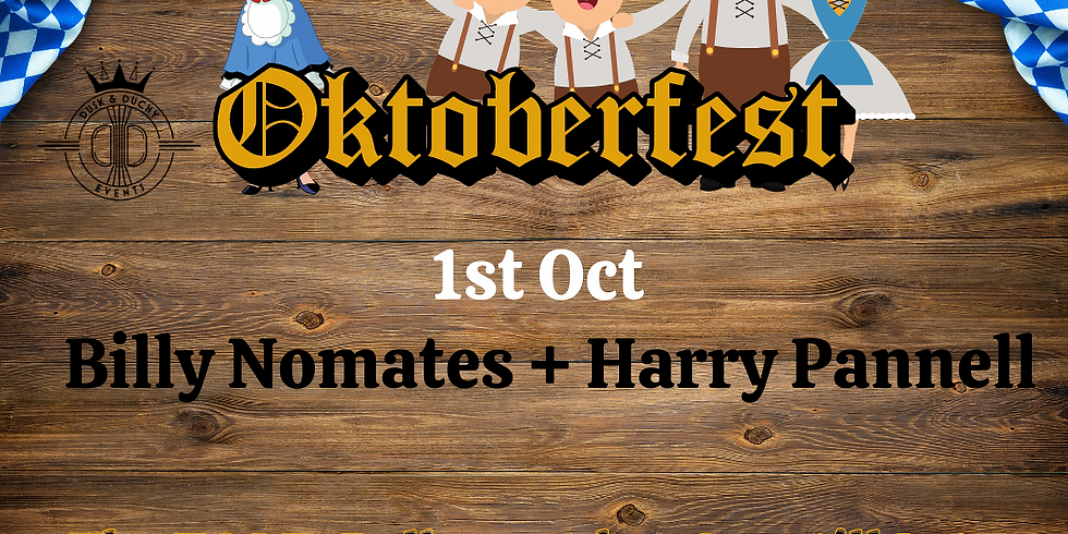 OktoberFest - Billy Nomates, Harry Pannell supporting