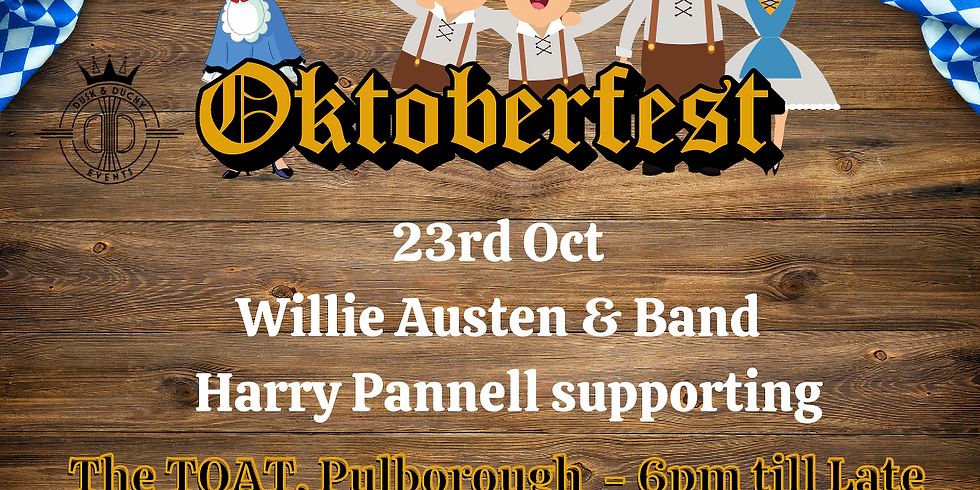 OktoberFest - Willie Austen & Band + Harry Pannell supporting (1)