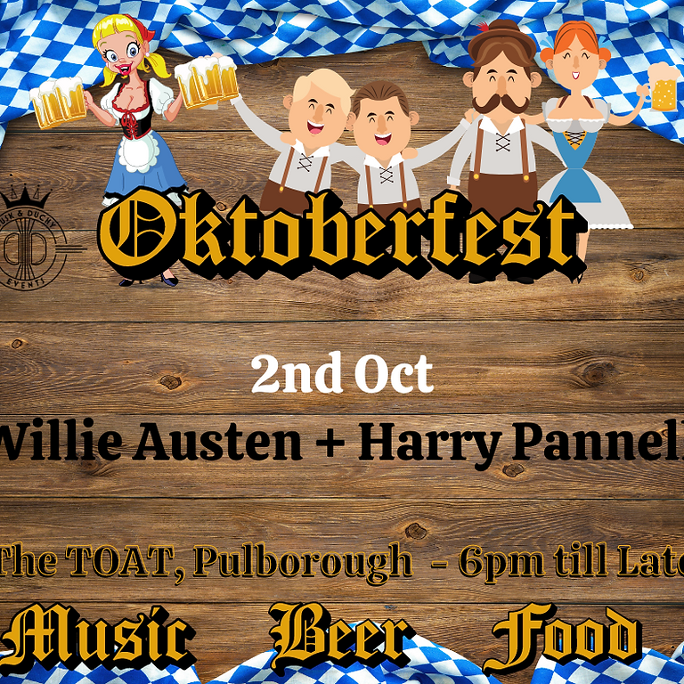 OktoberFest - Willie Austen & Band + Harry Pannell supporting