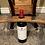 Thumbnail: Whiskey Barrel Stabe Wine Glass Holder
