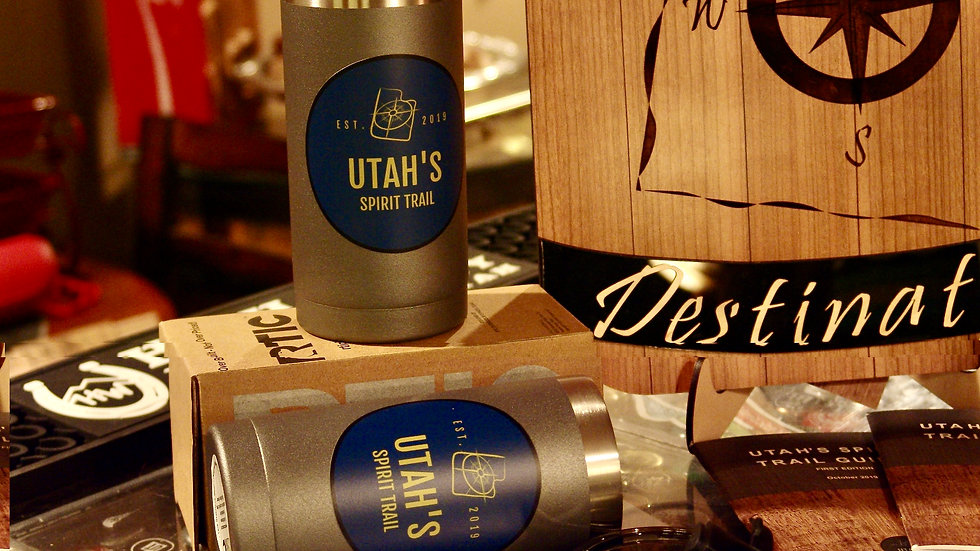 Utah's Spirit Trail 10oz Cocktail Traveler