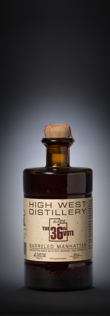 High West The 36th Vote Barrel Aged Manhattan