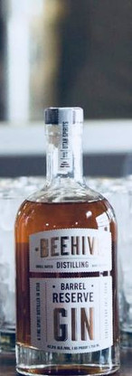 Beehive Vodka, Gin, and Barrel Reserve Gin
