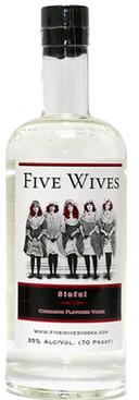 Ogden's Own Fives Wives Sinful Vodka