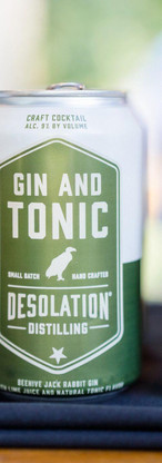 Desolation Products Canned Cocktails