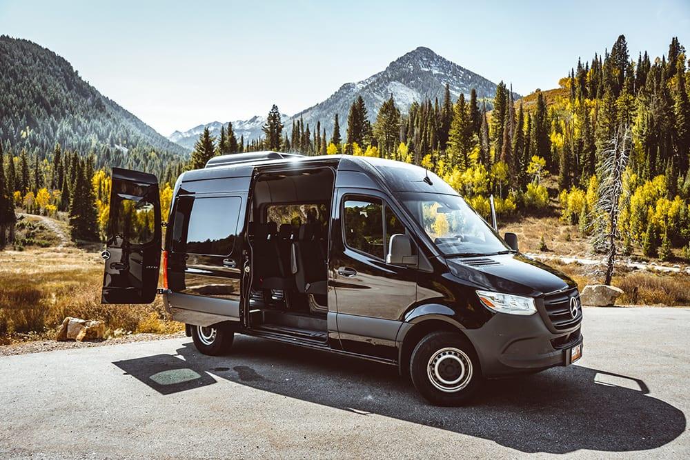 Spirit Sprinter Van Tour